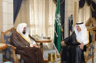 الفيصل يستقبل الشيخ عبدالرحمن االسديس