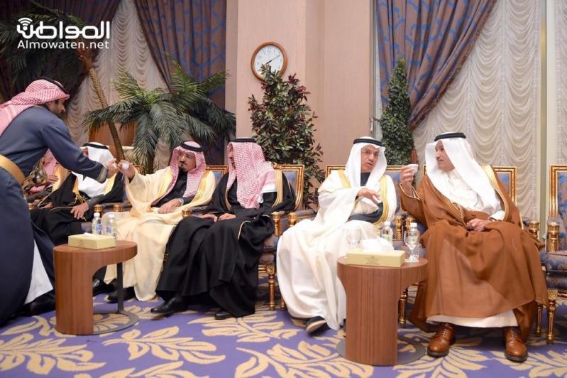 اللواء اليحيى يحتفل بزواج ابنته بنادي ضباط قوى الأمن 13