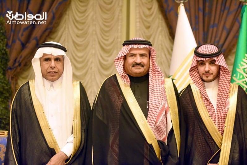 اللواء اليحيى يحتفل بزواج ابنته بنادي ضباط قوى الأمن 17