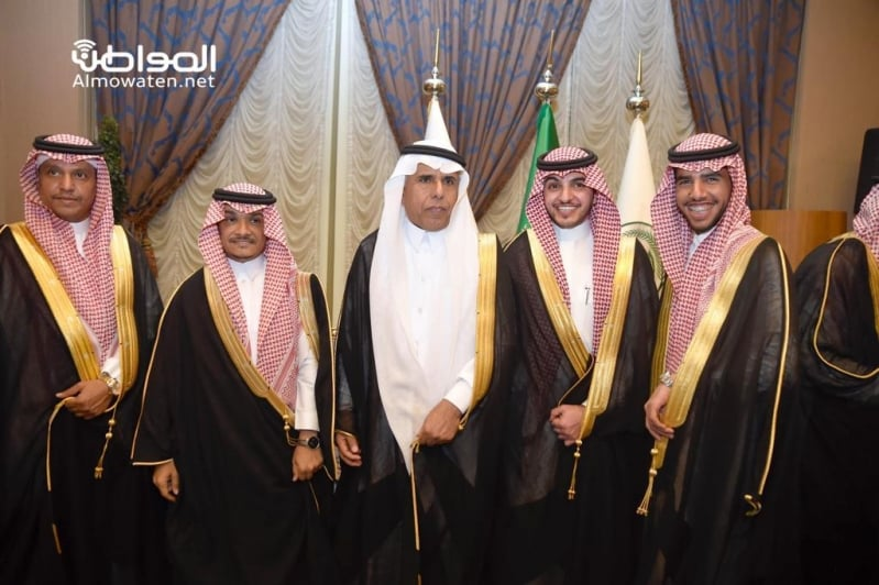 اللواء اليحيى يحتفل بزواج ابنته بنادي ضباط قوى الأمن 3