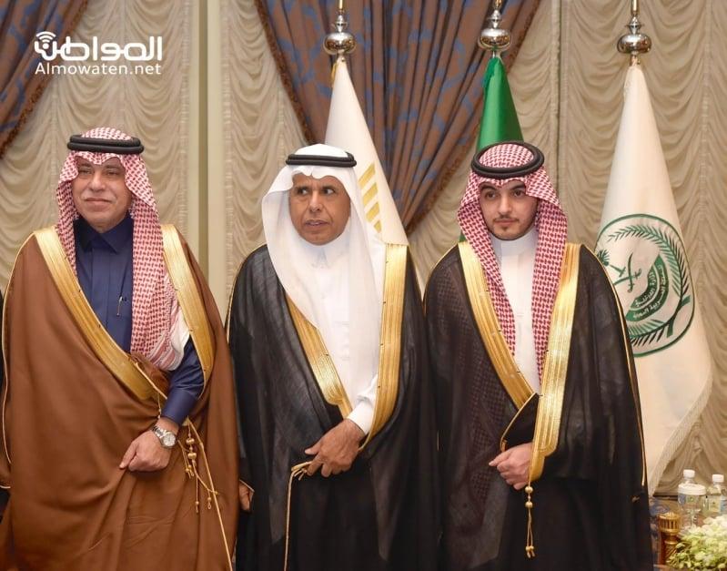 اللواء اليحيى يحتفل بزواج ابنته بنادي ضباط قوى الأمن 32