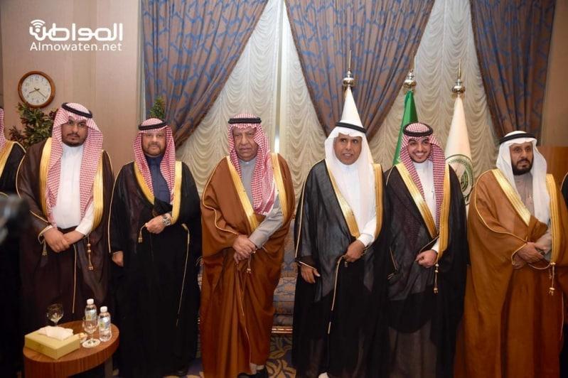 اللواء اليحيى يحتفل بزواج ابنته بنادي ضباط قوى الأمن 7