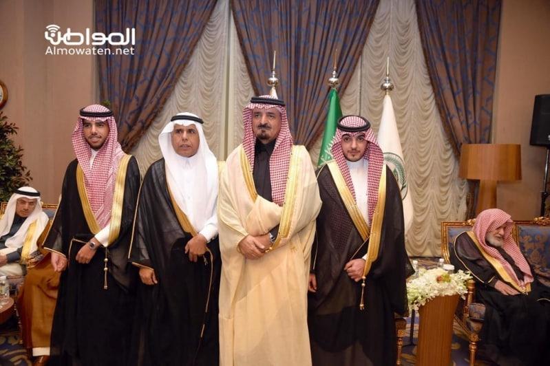 اللواء اليحيى يحتفل بزواج ابنته بنادي ضباط قوى الأمن 8