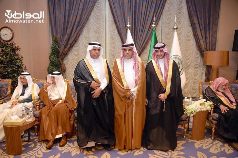 اللواء اليحيى يحتفل بزواج ابنته بنادي ضباط قوى الأمن 9