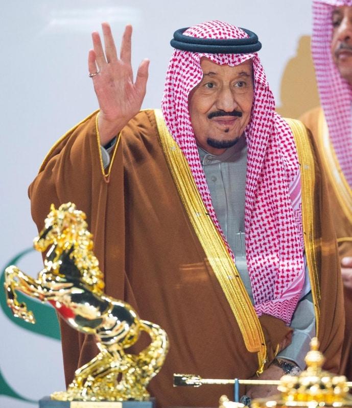 الملك سلمان يرعى كاس السعودية