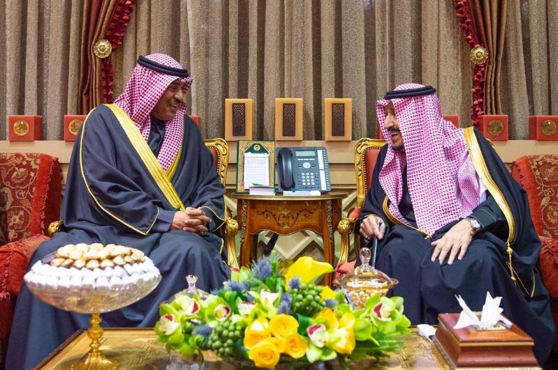 الملك سلمان يستقبل رئيس وزراء الكويت ويقيم مأدبة غداء تكريمًا له - المواطن