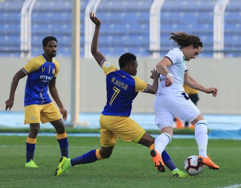 النصر ضد الفتح في الدوري السعودي