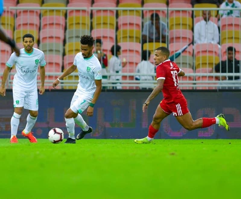 الوحدة والاهلي في الدوري السعودي للمحترفين