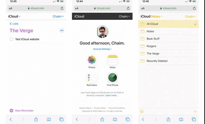 أبل تحدث  iCloud لدعم هواتف أندرويد و iOS