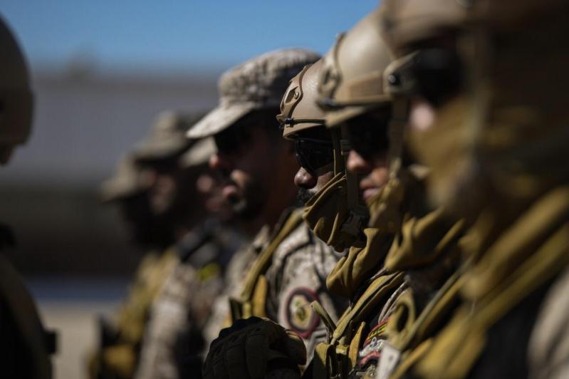 استمرار تمرين أمن الخليج العربي 2 بالإمارات