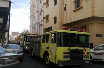 إخلاء وإصابات بالخوف والهلع بحريق عمارة سكنية في الطائف - المواطن
