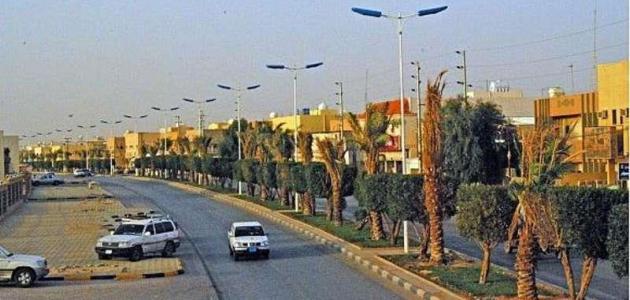 إنارة LED في شوارع رفحاء