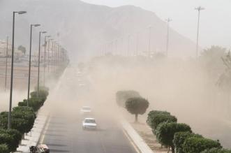 رياح مثيرة للغبار على هذه المناطق بدءًا من الغد وحتى الخميس - المواطن