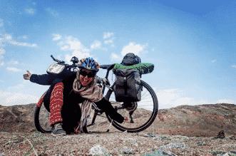 رحلة سارة هابا من تونس إلى مكة بدراجة هوائية - المواطن