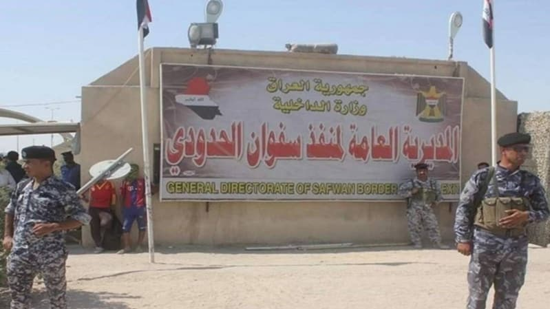 العراق يغلق معبر صفوان الحدودي مع الكويت
