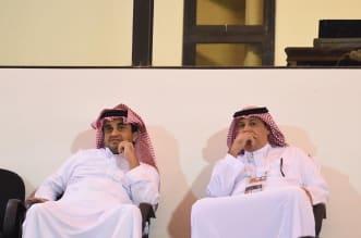 طلال آل الشيخ مع رئيس نادي الشباب