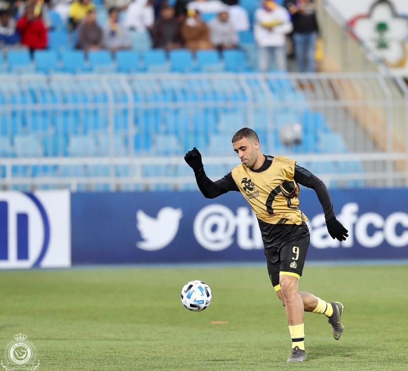عبدالرزاق حمدالله في مباراة النصر والسد
