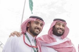 عبدالعزيز بن تركي الفيصل وولي العهد
