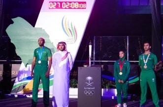 وزير الرياضة يدشن دورة الالعاب السعودية