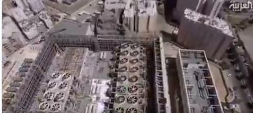 فيديو.. عجلة التبادل الحراري تمنع انتشار الفيروسات بالحرم المكي
