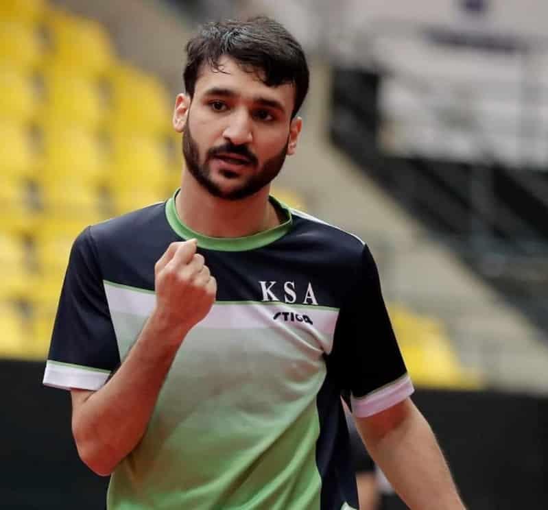 لاعب كرة الطاولة علي الخضراوي