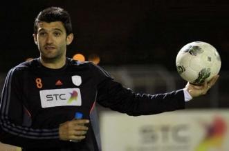 لاعب الشباب السابق فرناندو مينغازو