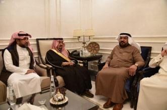 أمير الرياض يعزي أسرة الزويد