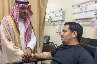 فيصل بن سلمان لرجال الأمن المصابين في إطلاق النار: الحادثة شر وراح - المواطن