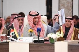 مرزوق الغانم في اتحاد ابرلمان العربي