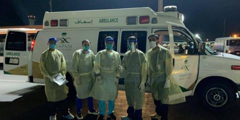 """فيديو.. الصحة تنفي ظهور كورونا في مطار جدة : """"رشّ احترازي"""""""