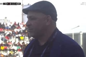 نور الدين بن زكري في مباراة الشباب وضمك