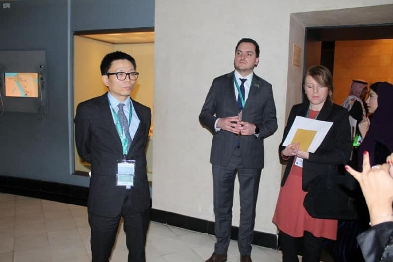 وزراء مالية مجموعة العشرين يزورون المتحف الوطني - المواطن