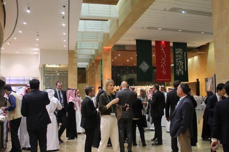 وزراء مالية مجموعة العشرين في المتحف الوطني