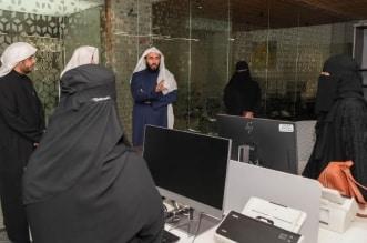 وزير العدل يتفقّد جاهزية صالة استقبال محكمة التنفيذ بالرياض