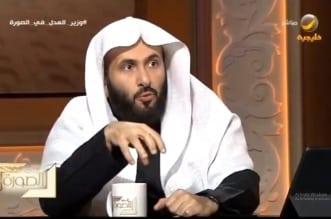 وزير العدل وليد الصمعاني في الصورة