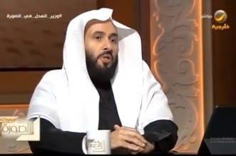 وليد الصمعاني وزير العدل في برنامج في الصورة