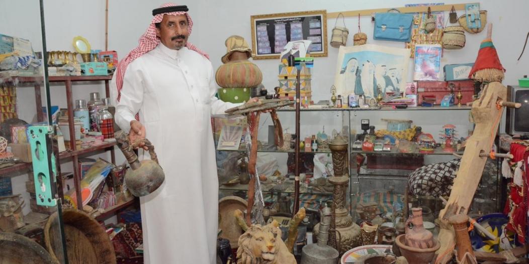 أكثر من 150 قطعة أثرية في ركن المقتنيات بمهرجان بارق
