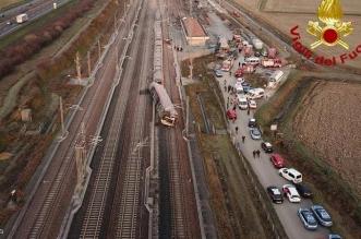 فيديو.. مقتل وإصابة 27 في حادث قطار بإيطاليا - المواطن