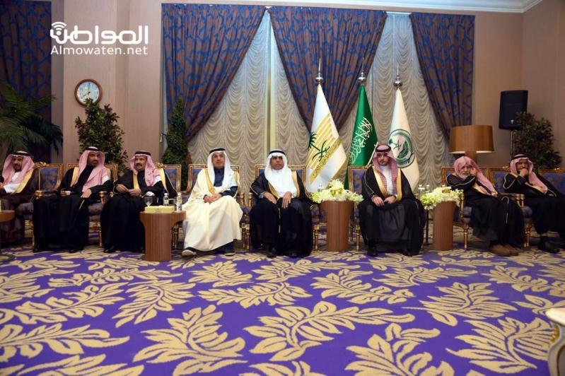 اللواء اليحيى يحتفل بزواج ابنته بنادي ضباط قوى الأمن