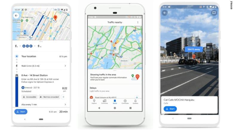 خرائط غوغل تظهر بتحديثات جديدة - المواطن