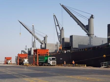 ميناء الملك عبدالله يختتم 2019 بزيادة سنوية قياسية في طاقته الإنتاجية