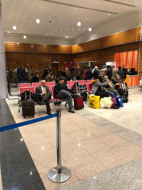 """هبوط اضطراري لطائرة كويتية بمطار تبوك.. ومصادر """"المواطن"""": الدخان السبب - المواطن"""
