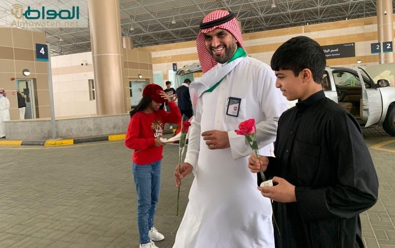 فيديو.. جمرك الرقعي يحتفل باليوم الوطني الكويتي