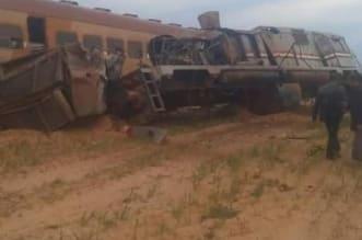 صور.. إصابة 24 شخصًا في انقلاب قطار بمصر - المواطن
