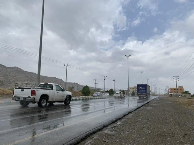 المسند يوضح خريطة الأمطار اليوم