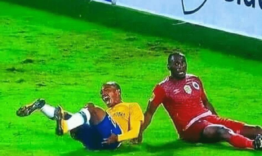 إصابة مُرعبة لنجم صن داونز قبل لقاء الأهلي المصري