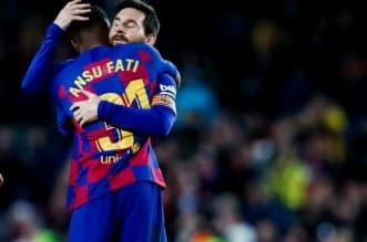 برشلونة يحصد النقاط الثلاث