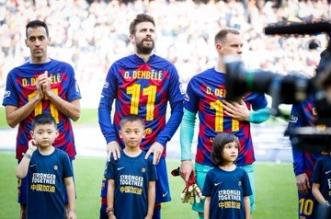 برشلونة يهزم خيتافي