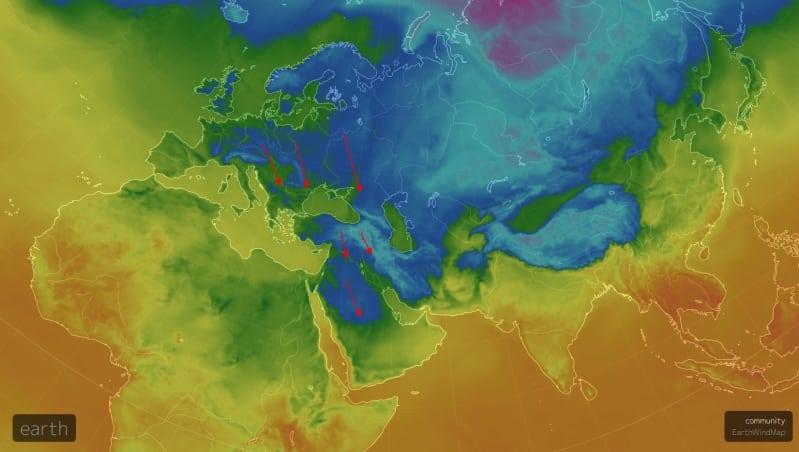 المسند: كتلة جوية شديدة البرودة تتوغل شمال المملكة.. ذروتها الأربعاء - المواطن