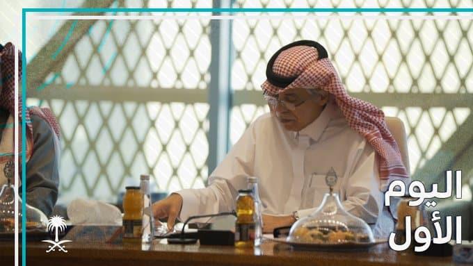 أول يوم لـ ماجد القصبي في وزارة الإعلام.. لقاءات واجتماعات